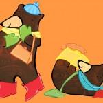 Orange Bears
