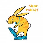 Image from 'This Rabbit, That Rabbit, Walker Books 2013
