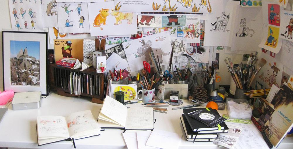my_desk_jane_porter